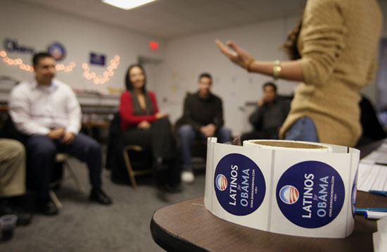"""Latinos For Obama"" Host Caucus Training In Iowa"